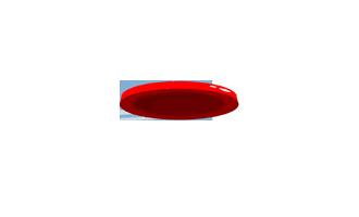 Lanzamiento de frisbee a 66 ft