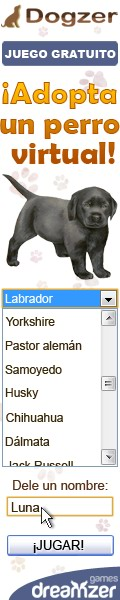 Dogzer: juego gratuito en Internet, ocuparse de un perro virtual