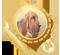 Medalla perro de San Huberto